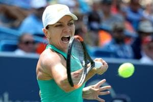 Simona Halep will be replaced in the draw by lucky loser Belinda Bencic.
