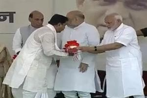 Minister Neelkanth Tiwari will be doing the immersion of ashes on Friday at Varanasi, Prime Minister Narendra Modi's parliamentary constituency.