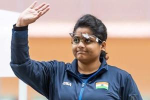 Rahi Sarnobat won the gold medal in 25m Pistol at the Asian Games 2018 on Wednesday.