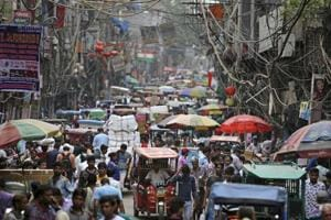 According to Population Reference Bureau estimates, the compound annual growth rate of India's population between mid-2018 to mid-2030 is likely to be 0.93%, and come down to 0.46% between 2030 and 2050.
