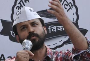 """A party functionary close to Ashish Khetan said he """"could not see himself grow in the set-up"""" any further."""