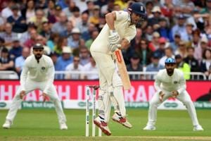 The English batsmen have struggled against both the Indian pacers and spinners.