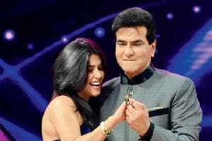 Producer Ekta Kapoor and actor Jeetendra have collaborated to promote the new TV show Home.