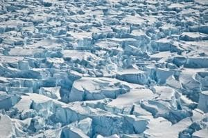 ICESat-2 will measure the average annual elevation change of land ice covering Greenland and Antarctica.