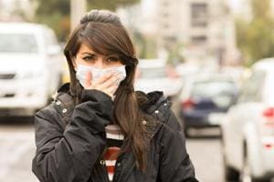 In heavily polluted areas, consider wearing masks that cover your nose and mouth, limit hours outside and limit long hours commuting to work in high traffic.