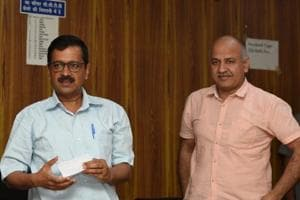 The plea was filed by AAP MLAs , including chief minister Arvind Kejriwal and his deputy Manish Sisodia.