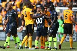 Manchester City dropped their first points of the Premier League Season against Wolverhampton Wanderers.
