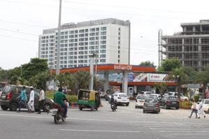The state's development and panchayats department had on March 2001 served a notice to the petrol pump owners to clarify as to why the land lease should not be cancelled. The panchayat had leased out the land to Janta Filling Station in December 1999 for 20 years.