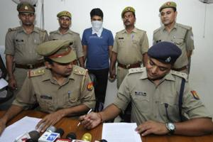 The accused, Saurabh Singh, planned to save the other victim — Bhanu Pratap — but was unable to do so, police said.