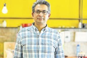 Rajan Anandan at Google's Gurugram office.
