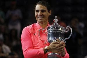 Rafael Nadal has put together back-to-back major crowns only at the French Open -- where he has won 11 of his 17 Grand Slam titles.