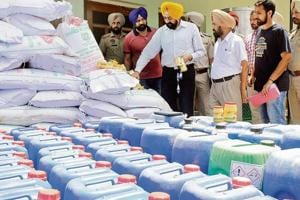 Raids by the food commissioner office and the health department across Punjab show that paneer and khoya are being made from poor quality skimmed milk mixed with starch. Oil is added to fulfil the fat content