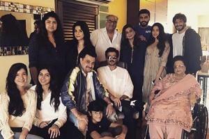 The Kapoors came together on Sunday to celebrate Raksha Bandhan.