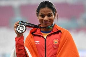 Silver medallist India