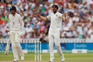 Ishant Sharma has led the Indian bowling attack beautifully in England.