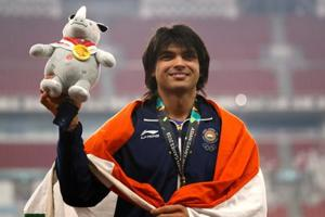 Neeraj Chopra won gold for India with a throw of 88.06m, which is a national record.