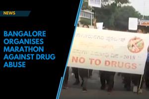 Bangalore runs marathon to spread awareness on drug abuse