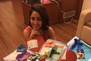 Bollywood actor Yami Gautam has a die-hard fan in Kolkata, who has tattooed her name on his arm.