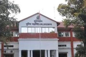 Uttarakhand Police Headquarters in Dehradun. The Special Task Force of the state police has acquired a face recognition software.