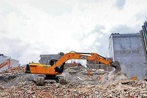 The twin building collapse in Shahberi village of Greater Noida on July 27 had resulted in the death of nine persons.