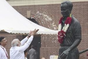 Prime Minister Narendra Modi paid his tributes to one of the legends in Indian sports. (FILEIMAGE)