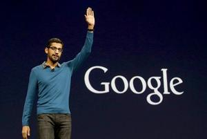 File photo of Sundar Pichai who has been named CEO of Google. ()