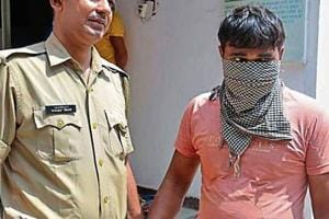 The police said they arrested Rajiv Poddar, a shop owner from Dundahera, on charges of murdering his wife Sanjana.