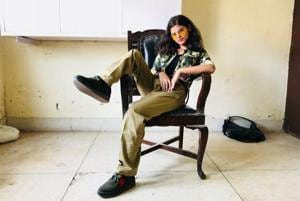 Madonna, a fresher from the Sociology department of Hindu College dressed up as Chulbuli Pandey, her spin on Salman Khan's character Chulbul Pandey from Dabangg.