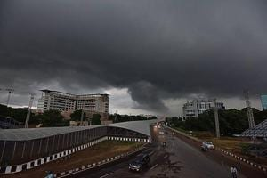 An automatic weather system gives updates about the temperature, rainfall and humidity. It is remotely managed by the IMD and maintained by a third party.