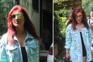 Parineeti Chopra after a salon session in Mumbai on Thursday.