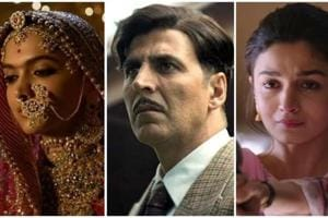 Box office report card: Deepika Padukone's Padmaavat, Akshay Kumar's Gold and Alia Bhatt's Raazi were the successful films this year.