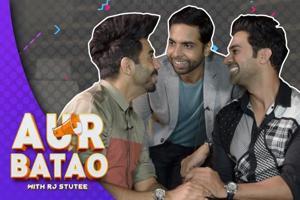 Interview || Rajkummar Rao, Aparshakti Khurana & Abhishek Banerjee || Stree...