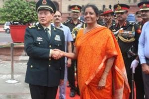 During Chinese defence minister General Wei Fenghe's meeting with Prime Minister Narendra Modi and his Indian counterpart Nirmala Sitharaman in New Delhi last week, the two sides had in-depth discussions on how to further implement the important consensus reached between Modi and Chinese President Xi Jinping, defence ministry spokesman Colonel Wu Qian said.