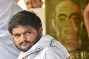 Hardik Patel's lawyers informed the court that he could not remain present on Thursday as he was on hunger strike at his house near Ahmedabad over the quota demand.