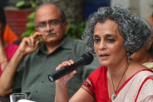 Arundhati Roy, Prashant Bhushan, Jignesh Mevani and other activists called for immediate end to 'political acts of vendetta'.