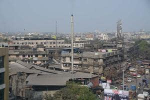 Bhiwandi is known for its powerlooms and warehouses.