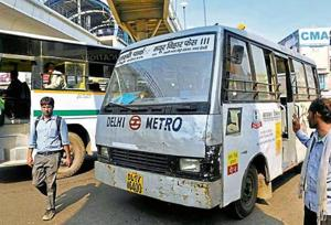 With an average frequency of around five minutes, the proposed feeder buses were supposed to have inbuilt GPS and CCTV cameras.