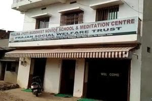 The Prajna Jyoti Novice School and Meditation Centre at Bodh Gaya.