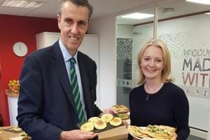 Liz Truss, UK's Chief Secretary to the Treasury, during a visit to Signature Flatbreads in Befordshire, said that a company in the east of England selling India its own traditional bread is a sign that the region can expand its exports base as the UK prepares to leave the European Union.