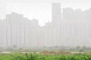 Vehicular emission and construction activities are the major sources of pollution in Noida