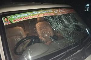 The SUVwhen ran over four people in Jaipur's Gandhinagar Railway Station on Thursday night.