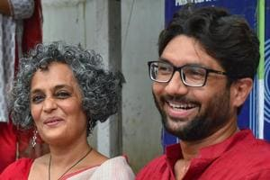 Activists Arundhati Roy, Jignesh Mewani, Prashant Bhushan and others condemned the police action.