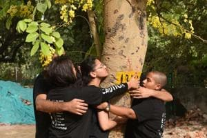 The move to chop 16,500 trees for the redevelopment of seven colonies had created massive uproar among Delhi residents.