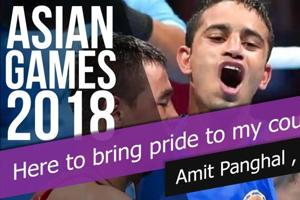 'Here to bring pride to my country': Amit Panghal after winning Asian Games...