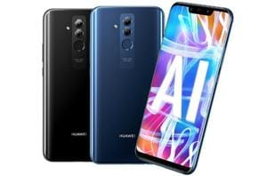 Huawei Mate 20 Lite comes with dual cameras on the front and back.