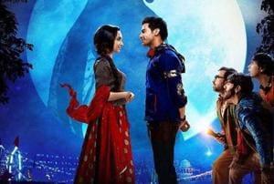 Stree stars Rajkummar Rao and Shraddha Kapoor in the lead roles.