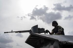 """In a statement late Friday the Nigerian military confirmed troops fought Boko Haram """"insurgents...on rampage to loot the community and extort money from villagers""""."""