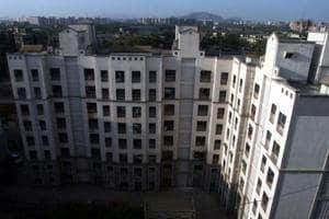Mhada building in Chembur, Mumbai