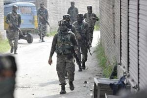 Two soldiers were injured in the operation that began on Friday.