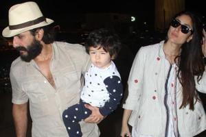 Taimur AliKhan, along with his parents Kareena Kapoor and Saif left for Maldives onSunday.